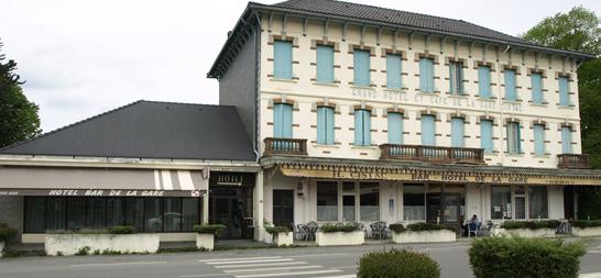 H tel de la gare lannemezan h tel de la gare for Hotel pres de la gare